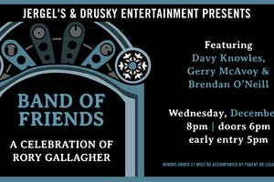 Band of Friends - Celebrating Rory Gallagher's 25th Anniversary