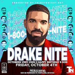 Drake Nite: Happy Birthday 6 God