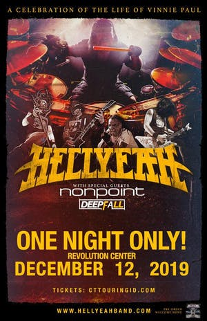 "HELLYEAH ""ONE NIGHT ONLY"""