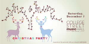 She And Him Christmas.She Him Christmas Party Tickets College Street Music