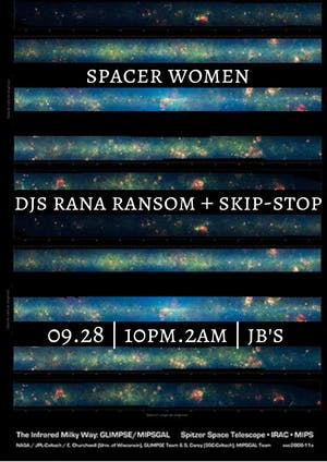 Spacer Women with DJs Rana Ransom and Skip-Stop