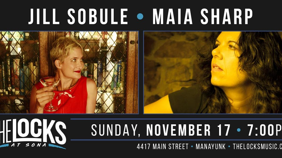 Jill Sobule and Maia Sharp