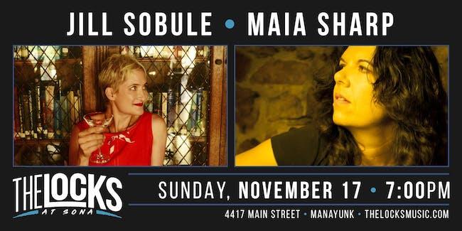 Jill Sobule and Maia Sharp