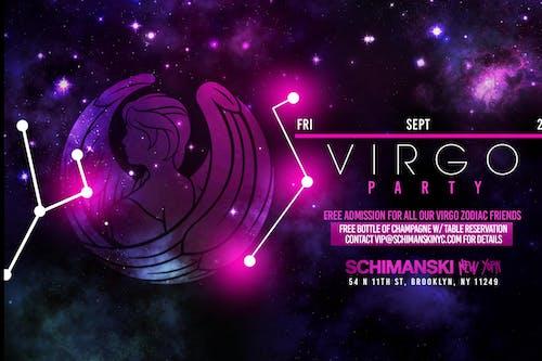Zodiac Party: VIRGO