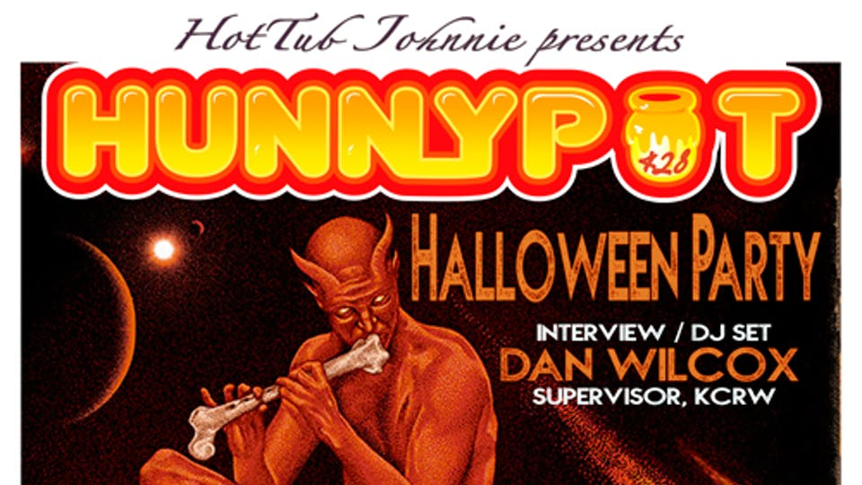 Hunnypot Live Halloween Party at The Mint 10/28
