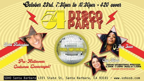 Studio 54 Disco Party!