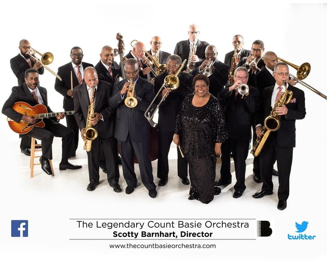 The Legendary Count Basie Orchestra conducted by Scotty Barnhart