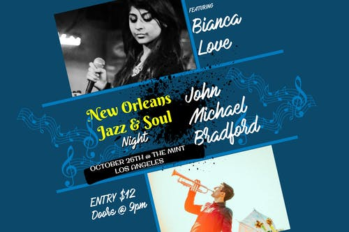 Bianca Love, John Michael Bradford, Juhan Ongbrian