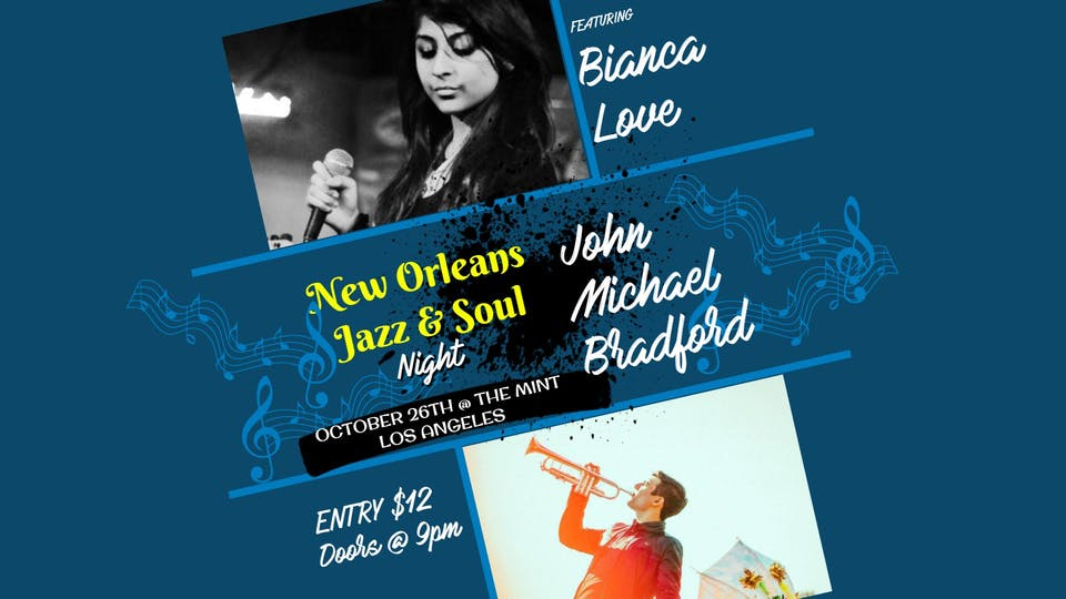 Bianca Love*John Michael Bradford*Juhan Ongbrian*Indira Khan*Alicia Nicole