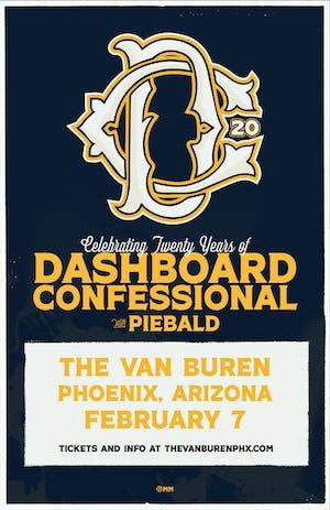 DASHBOARD CONFESSIONAL: 20 Year Celebration