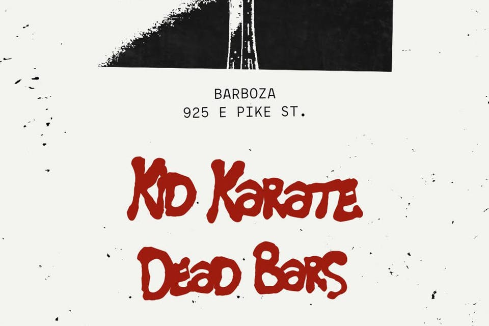 Bushmills Red Bush & Nosey Present: Red.Set.Go. with Kid Karate