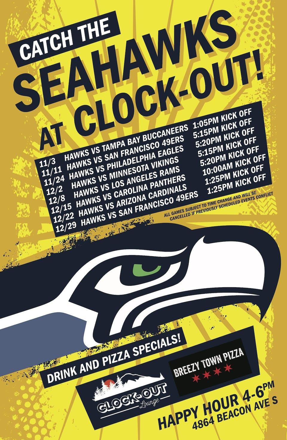 Seahawks @ 49ers