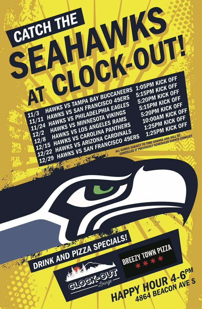 Seahawks at Panthers