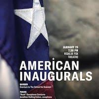 Sequoia Symphony Orchestra ~ American Inaugurals