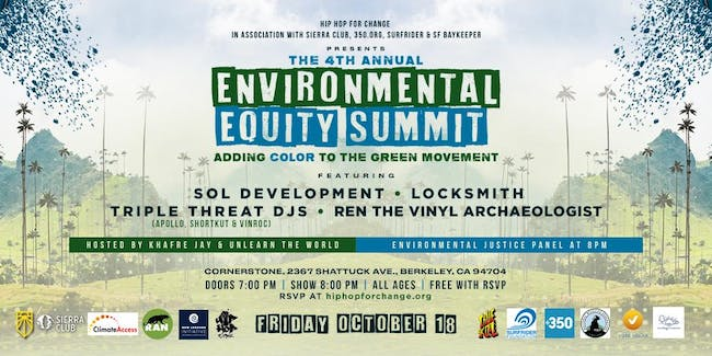 4th Annual Environmental Equity Summit: Adding Color to the Green Movement
