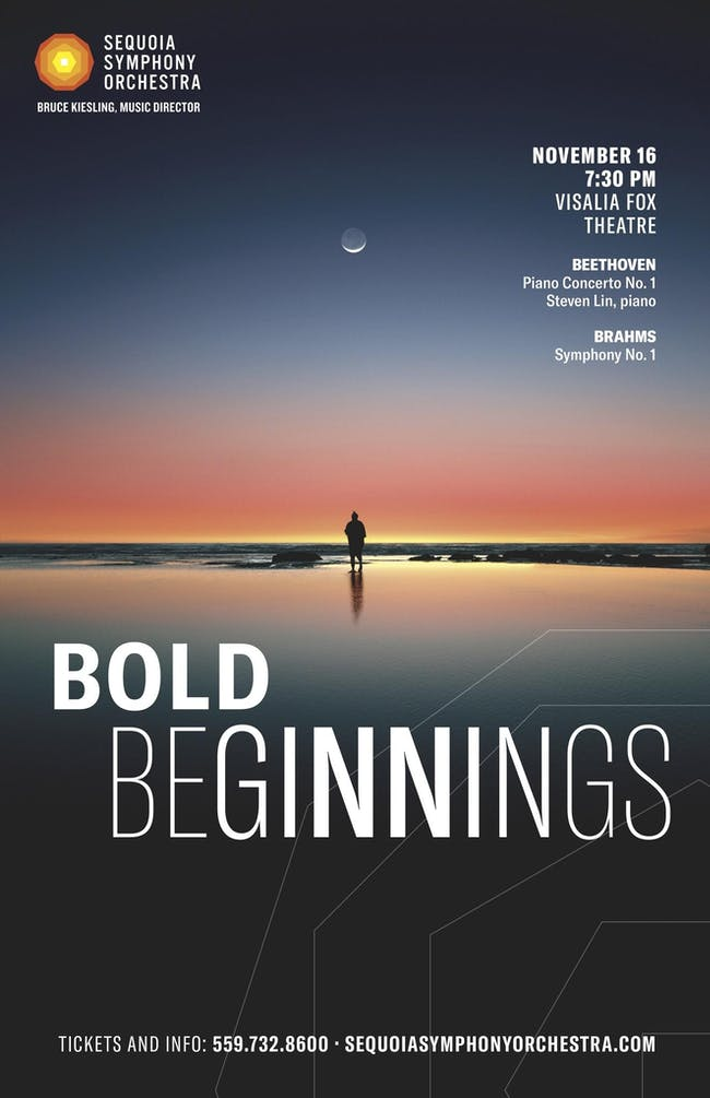 Sequoia Symphony Orchestra ~ Bold Beginnings