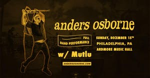 Anders Osborne (Full Band)