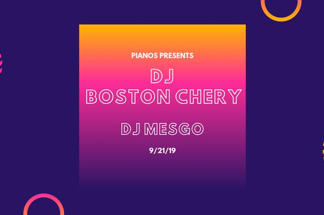 DJ Boston Chery, DJ Mesgo ($8 after 10pm)