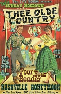 Dot's Hoedown - Thee Olde Country, Four Year Bender, Nashville Honeymoon