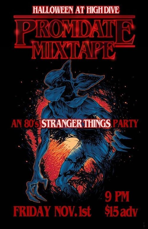 80's STRANGER THINGS Party w/ Prom Date Mixtape!