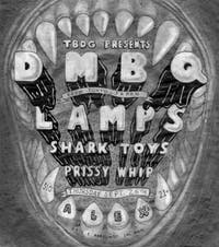 DMBQ (Tokyo, Japan) + LAMPS + Shark Toys + Prissy Whip at Alex's Bar