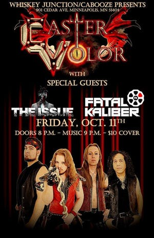 *Whiskey Junction* Caster Volor w/ The Issue, Fatal Kaliber