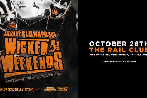 Insane Clown Posse at The Rail Club
