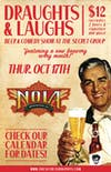 DRAUGHTS & LAUGHS: BEER & COMEDY SHOW! Featuring NOLA Brewing