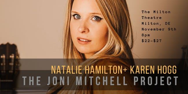 The Music of Joni Mitchell with Natalie Hamilton