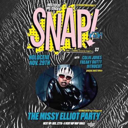 SNAP! Y2K: '90s vs '00s Dance Party - The Missy Elliott Party