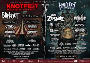SHOWCASE FOR KNOTFEST MEETS FORCE FEST 2019