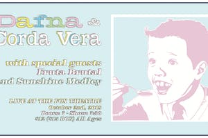 DAFNA + CORDA VERA with FRUTA BRUTAL, SUNSHINEMEDLEY