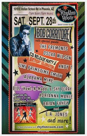 BOB CORRITORE CD RELEASE PARTY & BIRTHDAY CELEBRAT