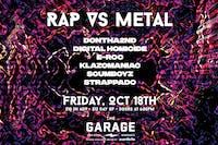 Rap vs Metal