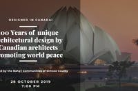 """Designed in Canada 100 Years of Unique Designs """"Promoting World Peace"""""""