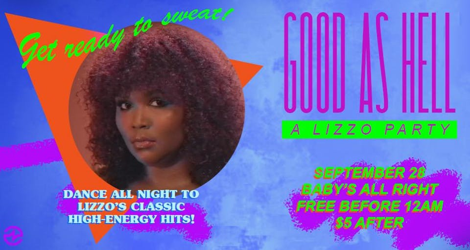 Good as Hell: A Lizzo Party