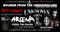 Sounds From The Underground Heavy Metal Music Fest