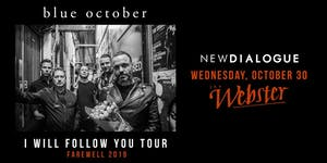 BLUE OCTOBER: I WILL FOLLOW YOU TOUR