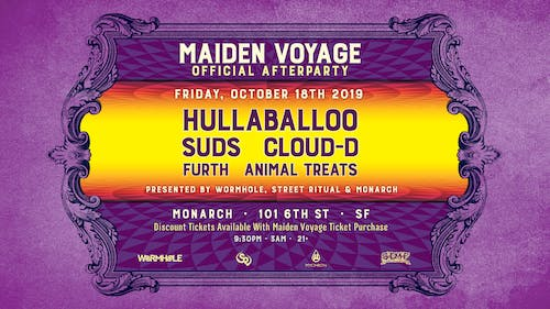 Wormhole, Street Ritual, & Monarch pres.: Maiden Voyage Official Afterparty