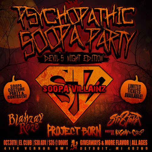 PSYCHOPATHIC SOOPA PARTY [DEVIL'S NIGHT EDITION]