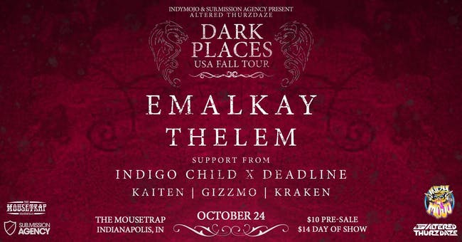 Altered Thurzdaze w/ Emalkay & Thelem