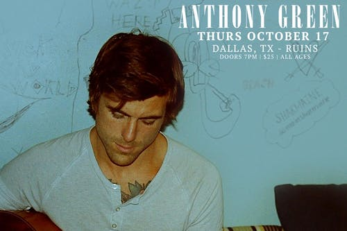 Anthony Green at Ruins