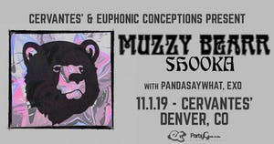 Muzzy Bearr w/ Shooka, Pandasaywhat, EXO