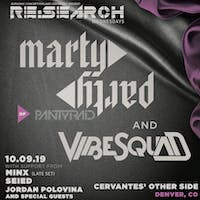 RE:Search feat. MartyParty and VibeSquaD w/ Minx, Jordan Polovina