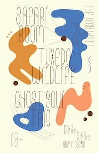 Safari Room w/ Ghost Soul Trio & Tuxedo Wildlife
