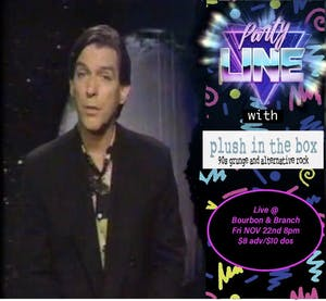 Party Line w/ plush in the box