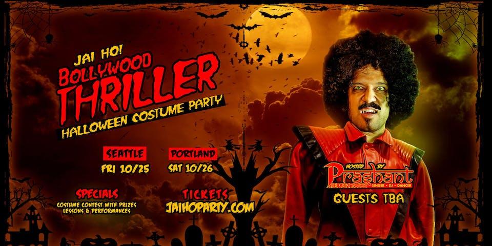 JAI HO! BOLLYWOOD THRILLER Halloween Party
