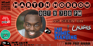 Martin Morrow as seen on NBC's Last Comic Standing, Laughs on Fox and more!