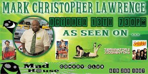 Mark Christopher Lawrence as seen on NBC's hit show Chuck, Weeds and more!
