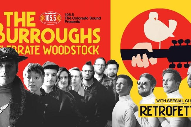 105.5 The Colorado Sound and Color Red Present: The Burroughs Celebrate Woo
